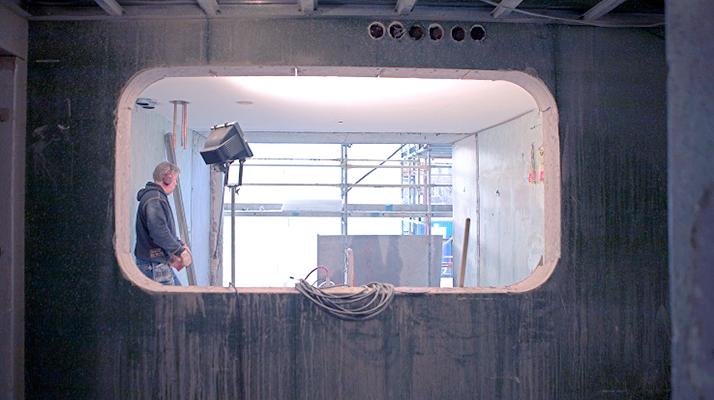 Vi utför kvalificerade håltagningsarbeten i betong, tegel och granit.
